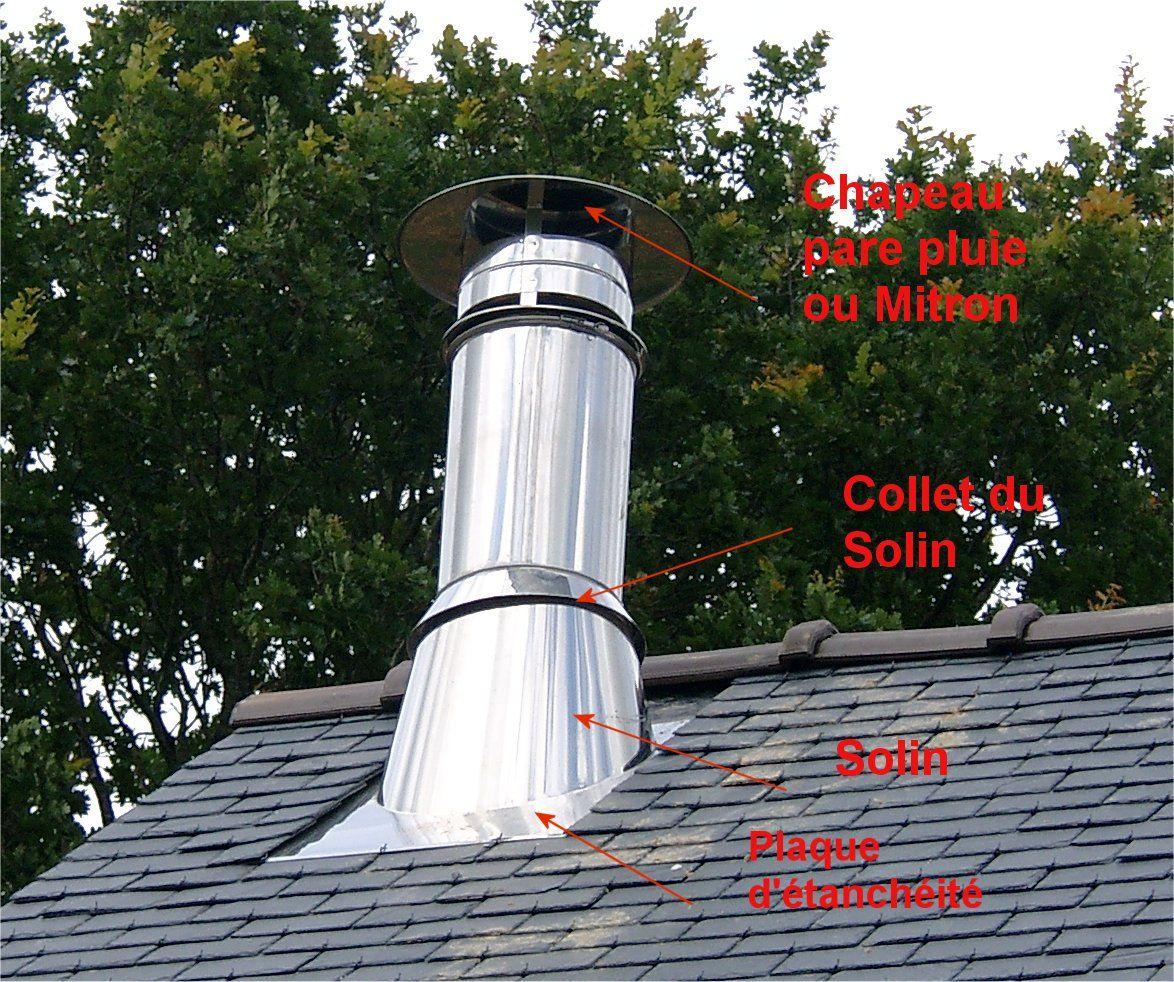 Pose des ardoises troisieme partie - Solin de toit ...